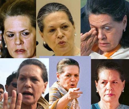 Sonia faces