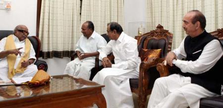 DMK-UPA drama