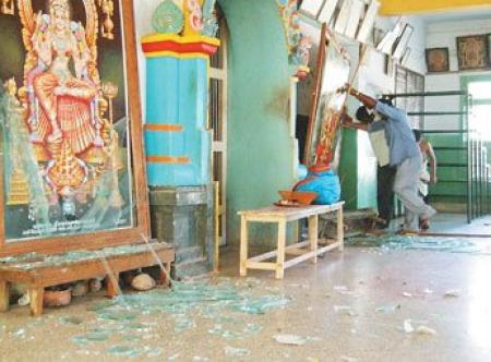 Salem Kanchi mutt attacked