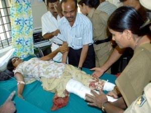 Bangalore blast victim Rakshita