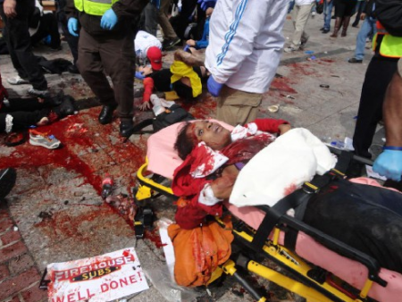 boston blast victim a woman