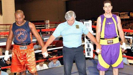 Tamerlan Tsarnaev as a boxer