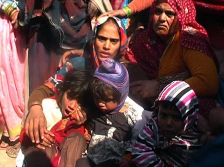 Indian soldier beheaded - wife and kids