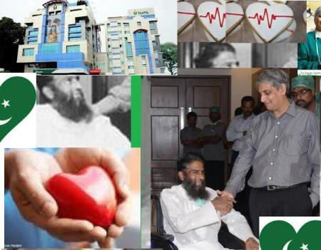 Maulana heart transplanted at Fortis Malar Hspitals.1