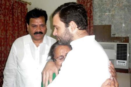 Rahul gandhi with Dalbir kaur