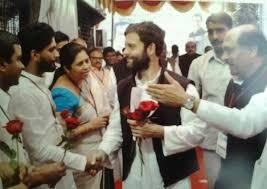Suraj Takur with Rahul beareded