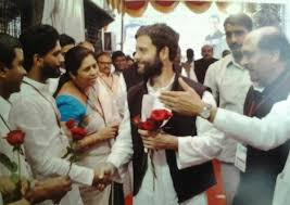 Suraj Takur with Rahul beareded