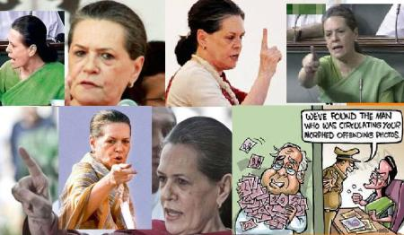Case booked against the person for posting morphed Sonia picture