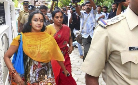 Shalu Menon arrested Kottayam Friday 05-07-2013 solar panels -PTI