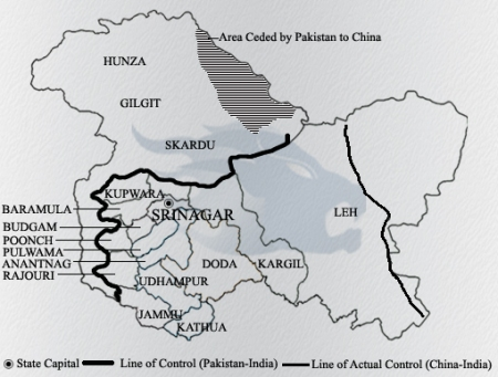 J and K divided map