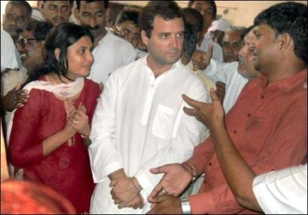 Rahul in Bhopal
