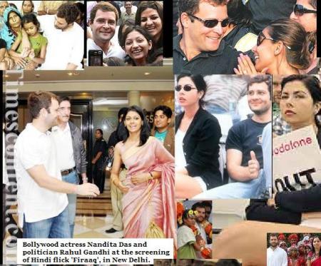 Rahul with actress, women etc.2