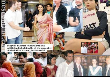 Rahul with actress, women etc.4