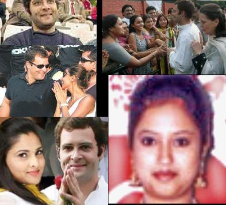 Rahul with actress, women etc.5