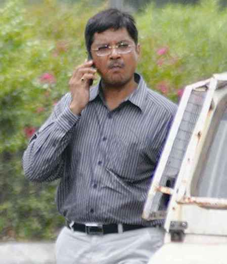 G.L. Singhal, suspended IPS officer Photograph by Mayur Bhatt