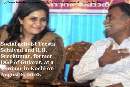 ISRO spying case - Teesta Setalvad -Srikumar -seminar  2010