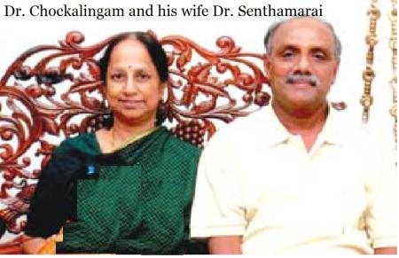 Dr Chockalingam and Dr Senthamarai ABVP