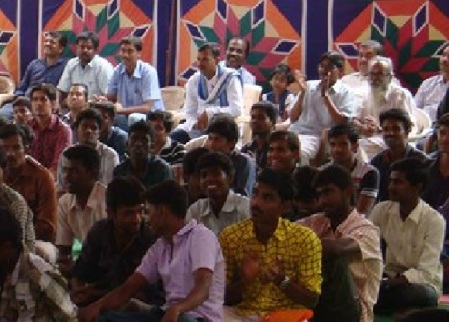 Sectional view ABVP