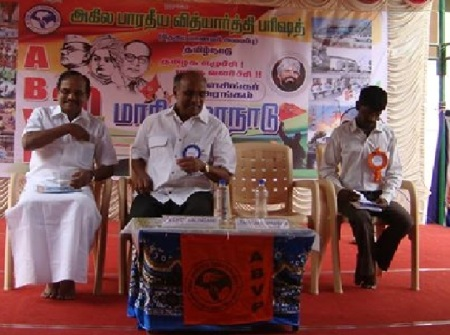 Tamilaruvi Manian, Chockalingam, ABVP