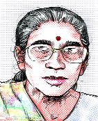 மோடியின் மனைவி என்று சொல்லப்படுகின்ற ஜஸோதாபென்