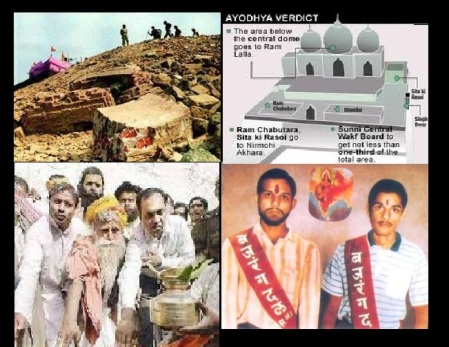 Ayodhya pictures Demolition, blessed, martyrs, judgment