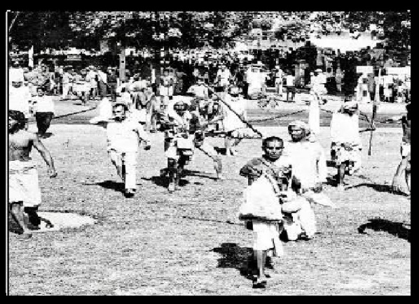 1966 anti-cow slaughter rally Delhi.3