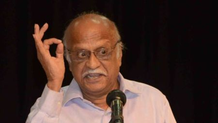 Dr Kalburgi was a leading scholar and a well-known rationalist thinker - BBC photo