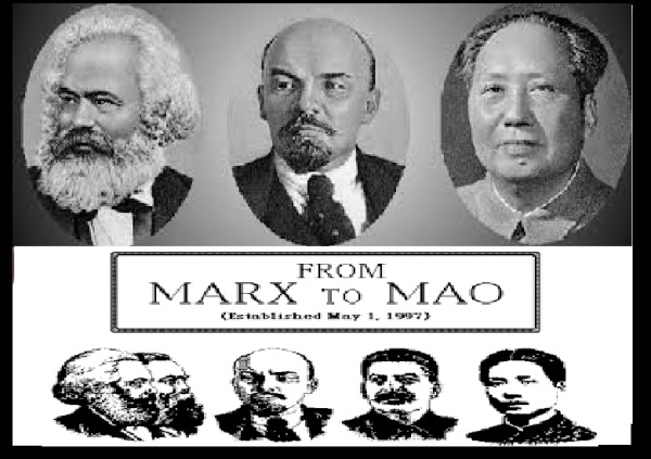 Marx, Lenin, Mao- trinity of Communism