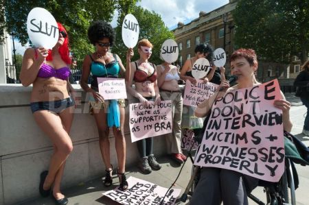 women-protest-in-underwear-against-rape-in-london