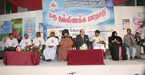 muththukumaraswamy thambiran in a aal religios meeting