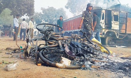 03-01-2016 violence Malda by Mus;ims preplanned