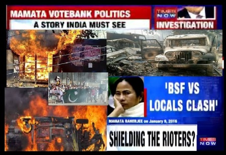 Malda riots - Mamta manipulated for vote bank politucs