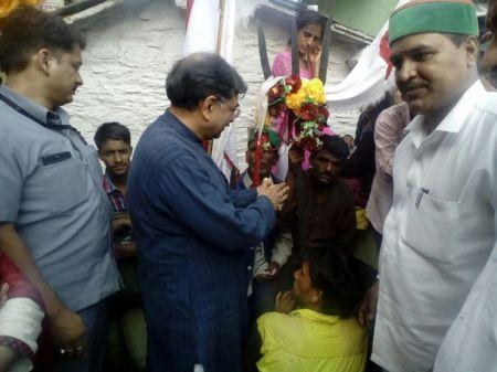 Tarun Vijay at Silgur Temple in Uttarakhand.20-05-2016