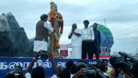 Thiruvalluvar statue - Kanyakumari