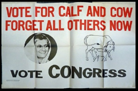 Congress - calf and cow symbol