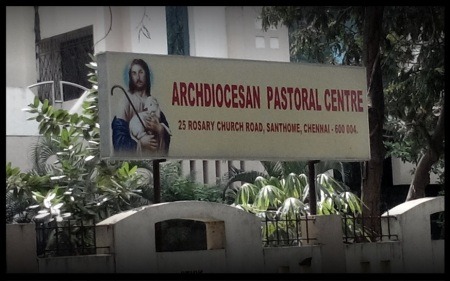 Archdiocesan Pastoral Centre, 25, Rosary Church Road, Santhome
