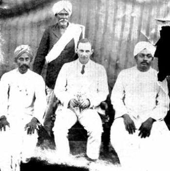Charles Brown with Indian Pundits