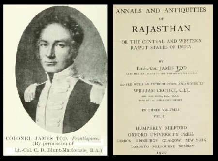 Co. Tod - Annals and Antiquities of Rajasthan