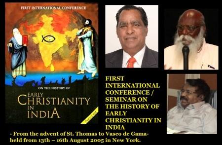 First early Christianity in India held 2005 - Santhosam, Deivanayagam, John Samuel