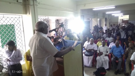 Pon radhakrisha at Valluvar temple-function 08-06-2017.speaking