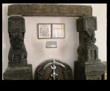 Temple parts kept in thomas museum, Mylapore