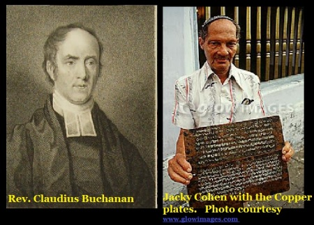 Cladius Buchanan and copper plates