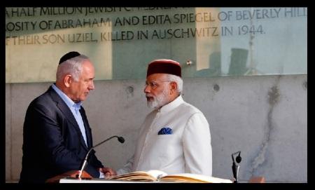 Modi met Benjamin Netanyahu