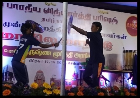 ABVP 2018 conference. Martialarts demo-1st day