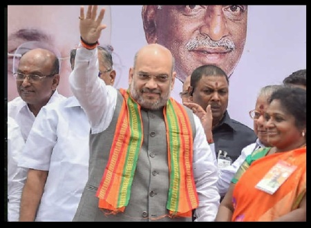 09-07-2018 - Amit Shah Meeting- on stage