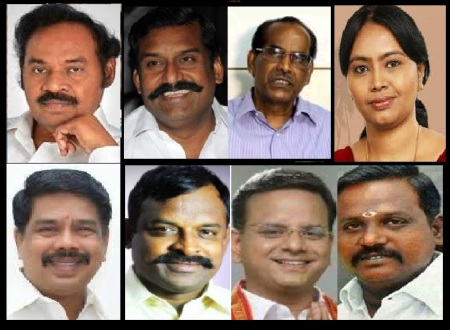 BJP Faction leaders, nominated, joined etc
