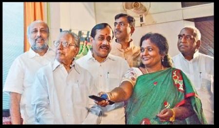 CPR, Lakhsmanan, Raja, Murali, Tamilisai, POn.Radha
