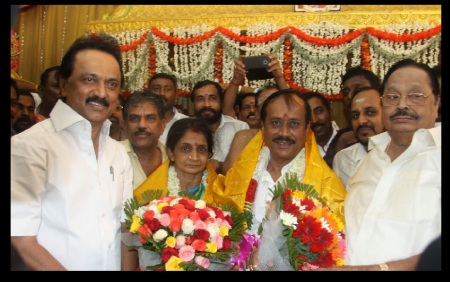 Stalin, Mrs-Mr Raja, Durai murugan