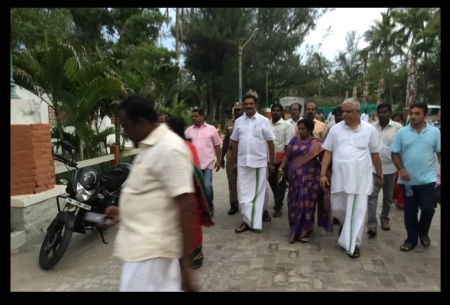 VGP resort - Tamilisai inspected-2