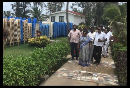VGP resort - Tamilisai inspected
